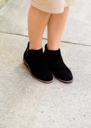 sole society black size zip bootie