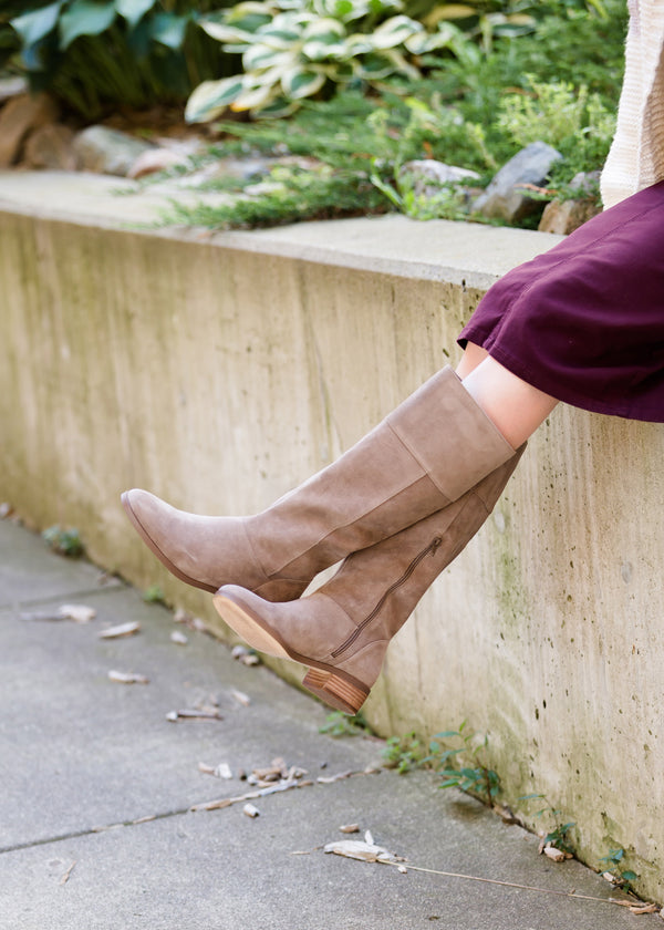Inherit Co.  | Shoes | Sole Society - Fall Suede Tall Boot | Sole Society Carlie Tall Leather Riding Boot