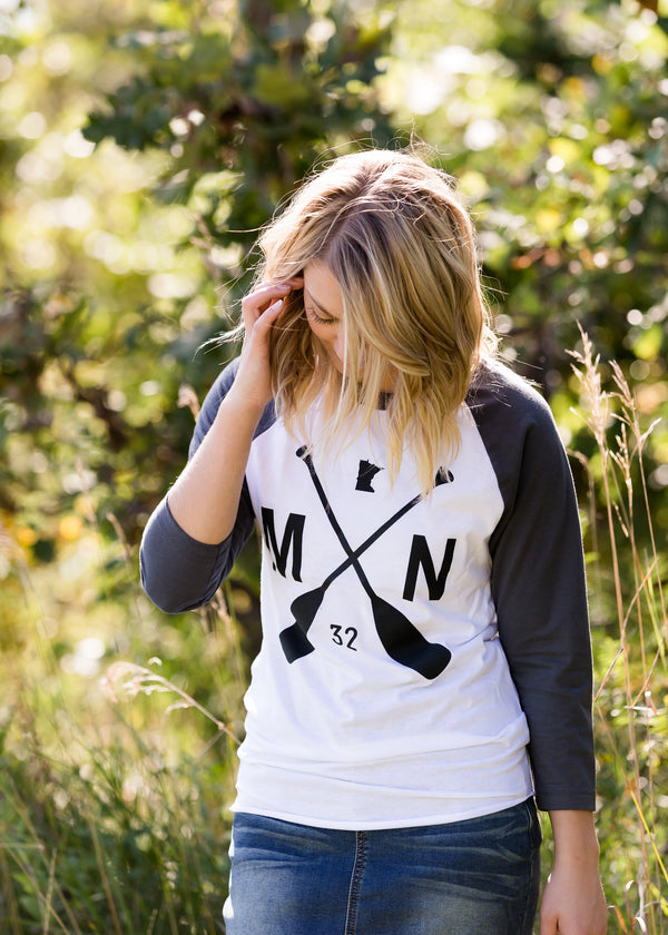Inherit Co.  | Sota' MN Paddle Raglan