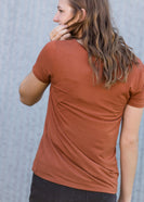 Bamboo V-Neck Pocket Tee - FINAL SALE