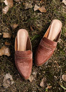 Inherit Co.  | Winter Clearance | Classic Copper Backless Loafer - FINAL SALE