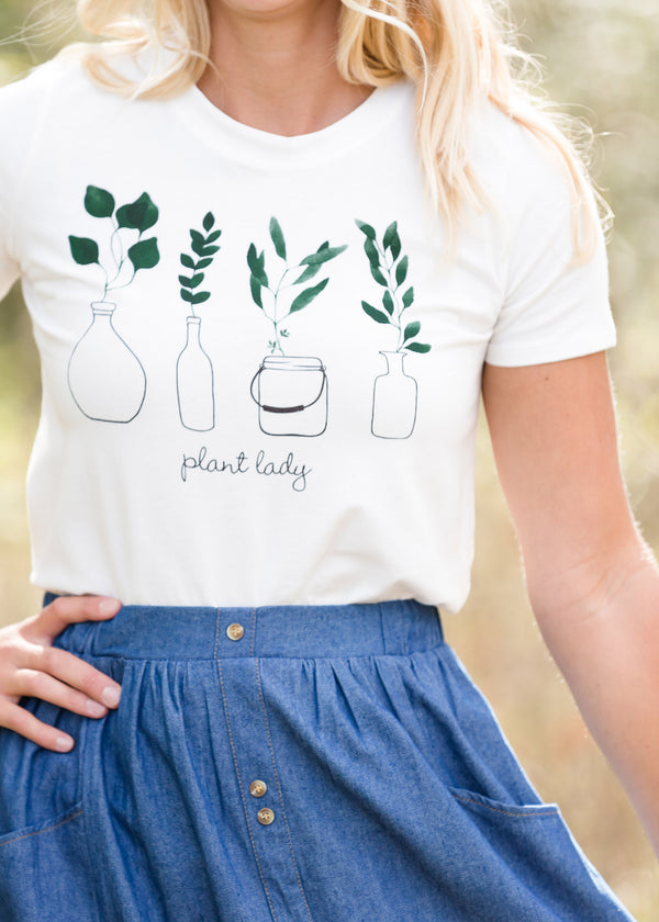 Inherit Co.  | Women's New Arrivals | Plant Lady Graphic Tee