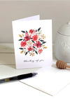 Thinking of You Floral Card Set - FINAL SALE