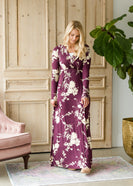 Inherit Co.  | Floral Long Sleeve Maxi Dress