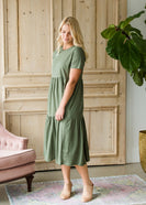 Tiered Midi Dress - FINAL SALE