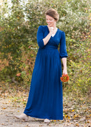 Buttery Soft Fit and Flare Maxi Dress - FINAL SALE