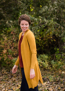 Open Front Cardigan With Pockets - FINAL SALE