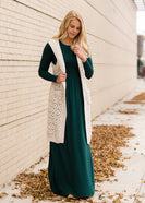 Inherit Co.  | Women's Modest Dresses | Long Sleeve Buttery Soft Maxi Dress - FINAL SALE