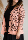 Jacquard Animal Print Cardigan - FINAL SALE