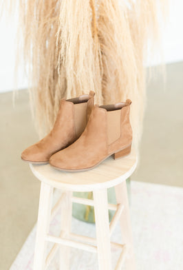 Inherit Co.  | Shoes | Taupe Faux Fur Bootie Slippers |