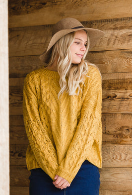 Inherit Co.  | Modest Women's Tops | Pullover Asymmetrical Snap Sherpa Sweater |