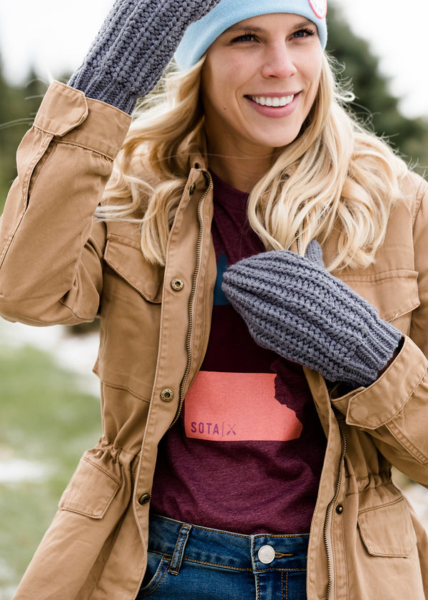 Inherit Co.  | Women's Accessories | Fleece Lined Cozy Mittens