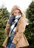 Inherit Co.  | Women's Shoes & Accessories | Sota' Clover Buffalo Check Scarf