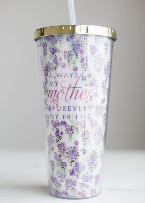 Inherit Co.  | Forever Friend Straw Tumbler-FINAL SALE
