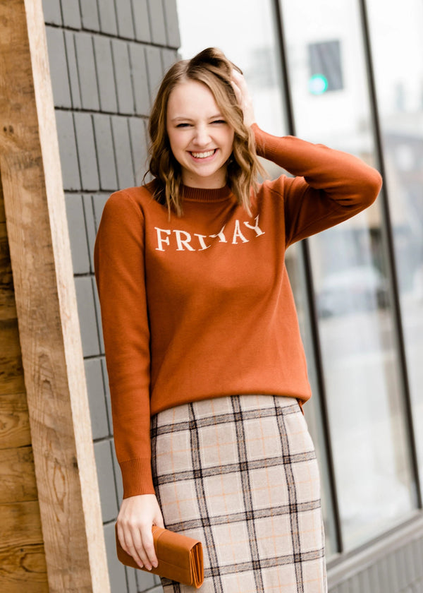Inherit Co.  | Modest Women's Tops | Friyay Graphic Sweater