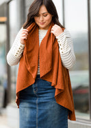 Inherit Co.  | Modest Women's Tops | Open Front Sweater Vest