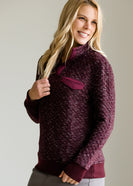 Quilted Pullover Pocket Sweater - FINAL SALE