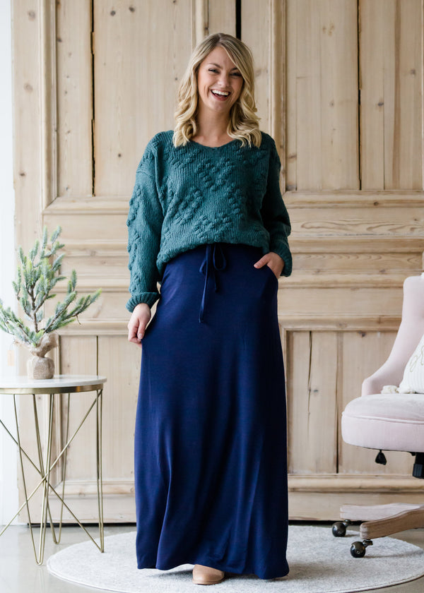 Inherit Co.  | Modest Women's Skirts | Soft Stretch Maxi Skirt - FINAL SALE