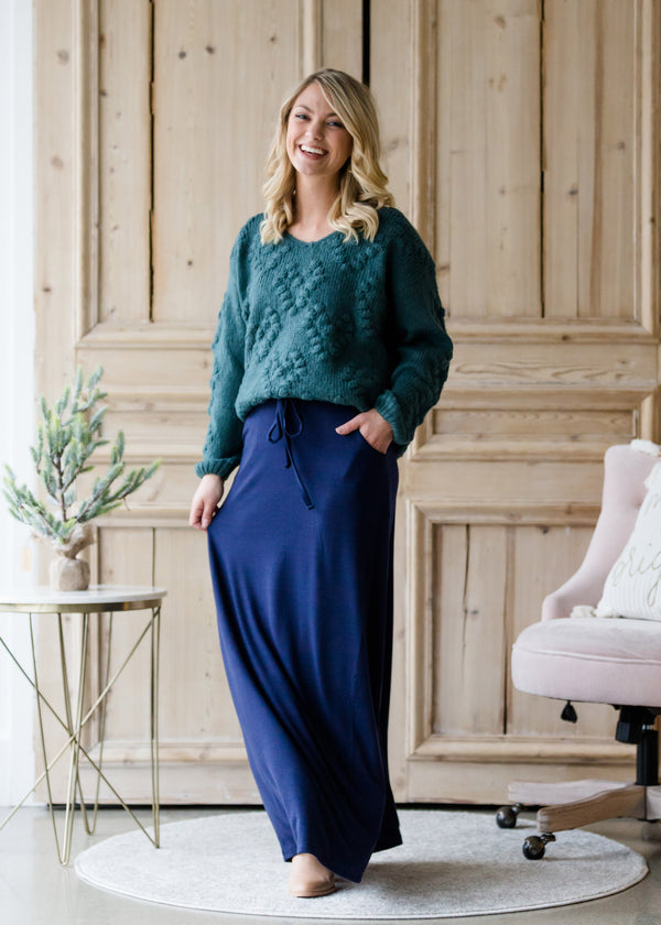 Inherit Co.  | Modest Women's Skirts | Soft Stretch Maxi Skirt
