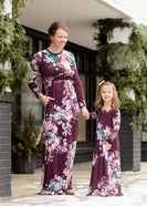 Flora Stretch Maxi Dress-FINAL SALE