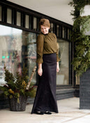 Hana Knit Long Skirt