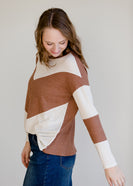 Colorblock Long Sleeve Thermal Top - FINAL SALE