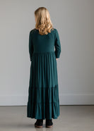Highwaist Stretch Maxi Dress - FINAL SALE
