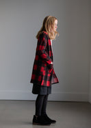 Macaron Plaid Open Front Cardigan - FINAL SALE