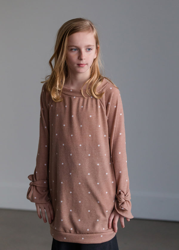 Inherit Co.  | Women's New Arrivals | Polka Dot Tunic Top