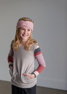 Inherit Co.  | Winter Clearance | Crocheted Blush Headband