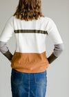 Long Sleeve Colorblock Sweater - FINAL SALE