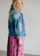 Dark Washed Denim Jean Jacket - FINAL SALE