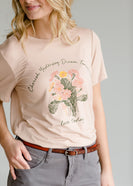 Live Today Floral Graphic Tee - FINAL SALE