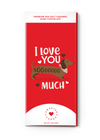 Valentine's Day Chocolate Bar Greeting Card - FINAL SALE