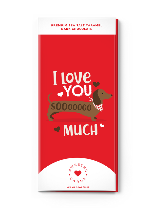 Inherit Co.  | Women's New Arrivals | Valentine's Day Chocolate Bar Greeting Card