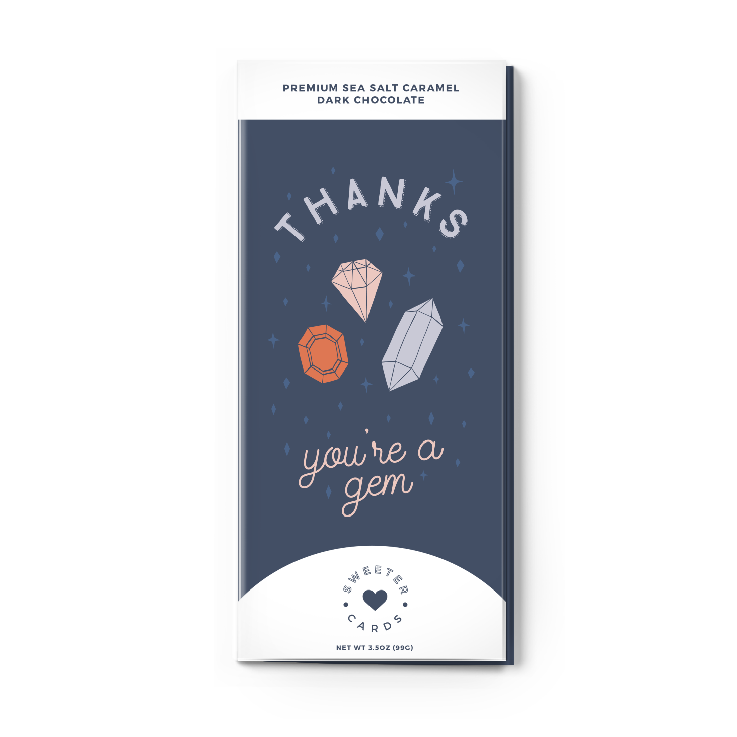 Thank You Chocolate Bar Greeting Card