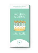 Happy Birthday Chocolate Bar Greeting Card