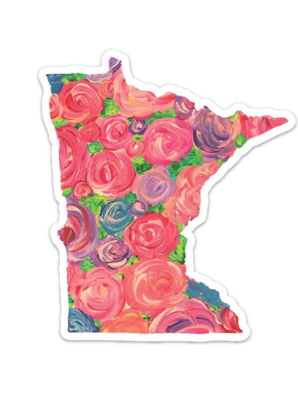 Inherit Co.  | Paper + Planning | Minnesota Floral Decal