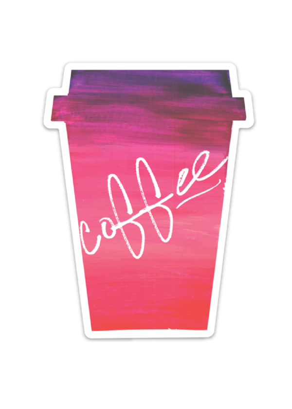 Inherit Co.  | Paper + Planning | Coffee Cup Decal