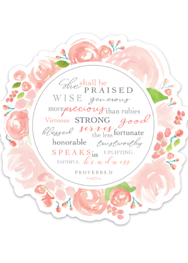 Inherit Co.  | Home + Lifestyle | Proverbs 31 Decal