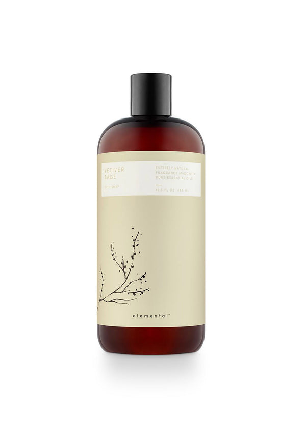 Inherit Co.  | Home + Lifestyle | Vetiver Sage Dish Soap