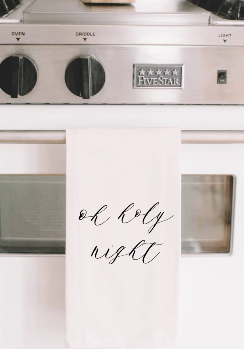 Oh Holy Night Tea Towel - FINAL SALE