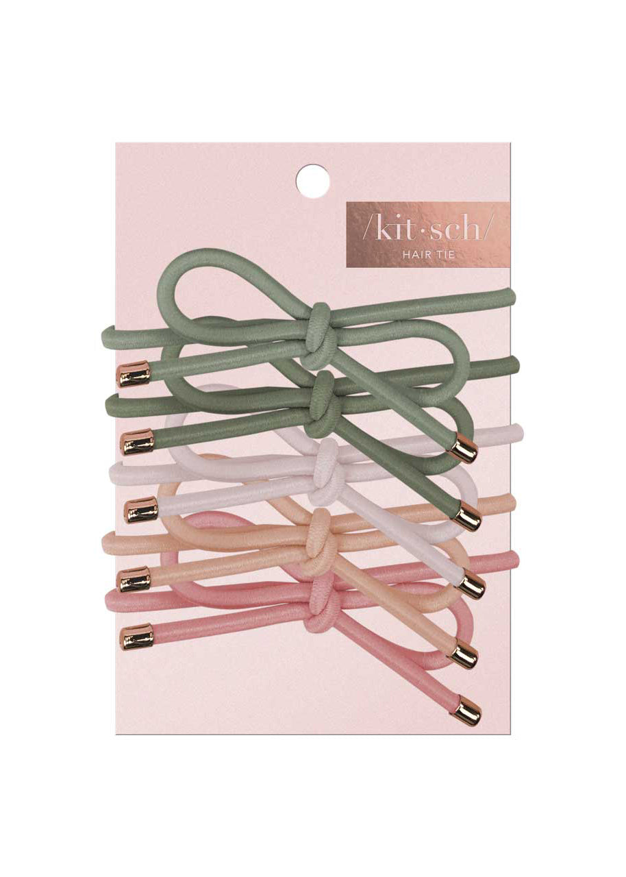 Bow Ponytail Hair Ties