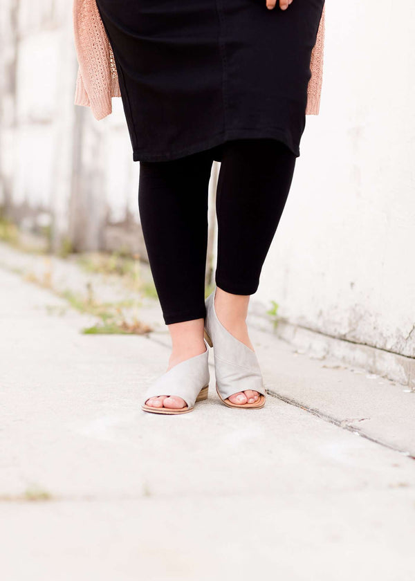 Inherit Co.  | Modest Plus Size Clothing | Soft Cotton Leggings