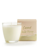 Coconut Milk Mango Glass Soy Candle