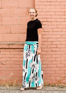 Gardenia Stripe Maxi Skirt - FINAL SALE