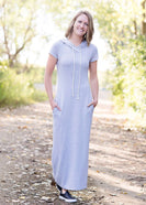 Midday Hooded Maxi Dress