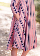 Salem Striped Dress