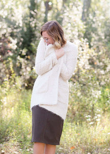 Cozy Latte Cardigan