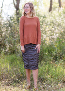 Ruched Ashmore Skirt